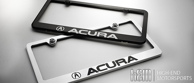 Acura Rlx License Plate Frame